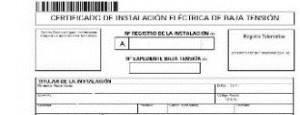 Certificado Electrico